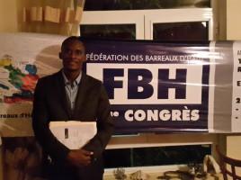 Me Jacques LETANG, Nouveau Secrétaire Général de la FBH