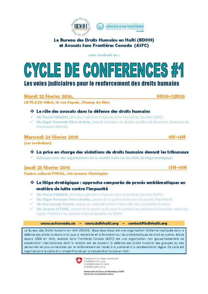 affiche _conferences