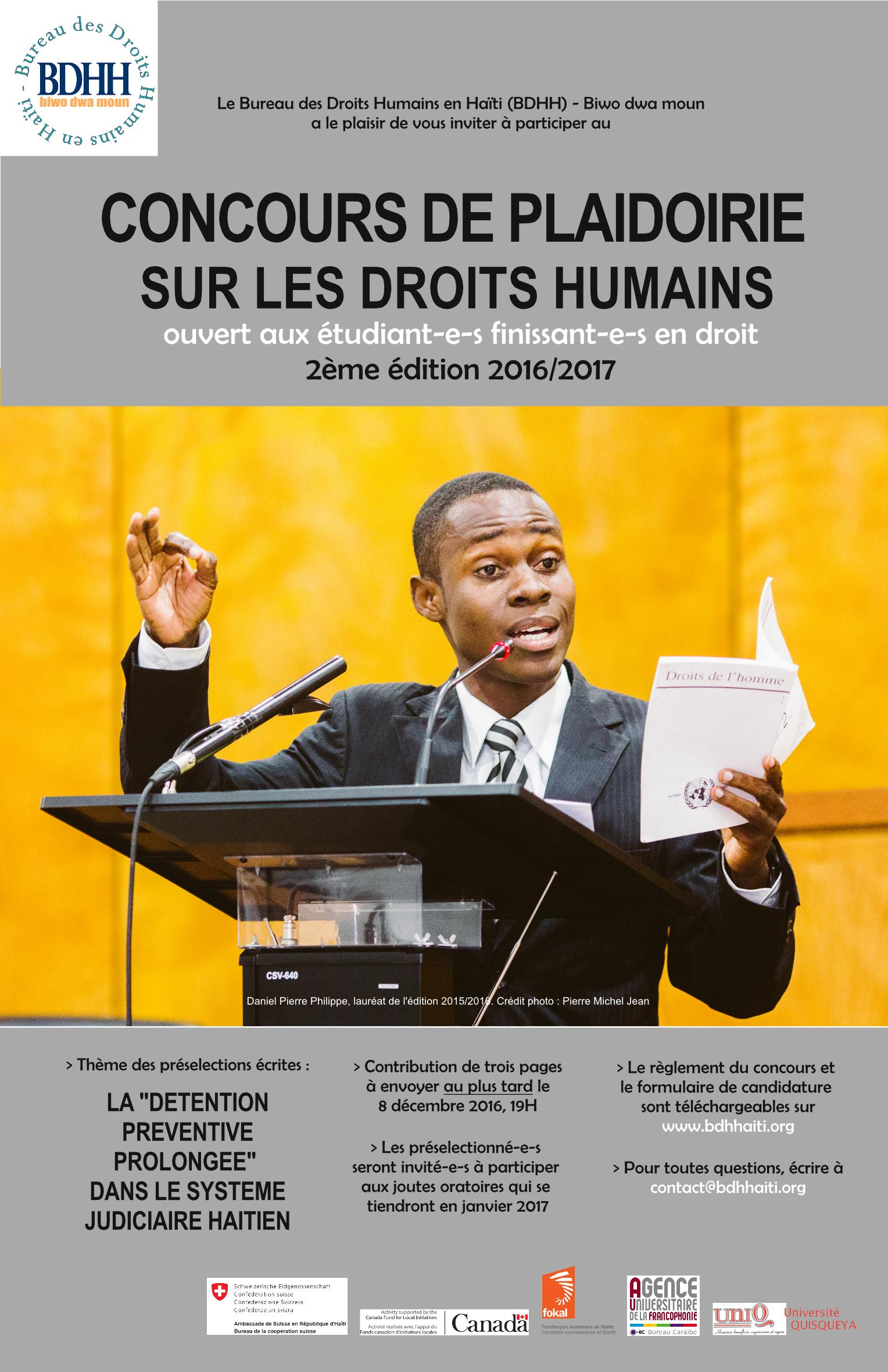 Bureau des droits humains en ha ti bdhh biwo dwa moun biwo dwa moun - Bureau des concours aphp ...