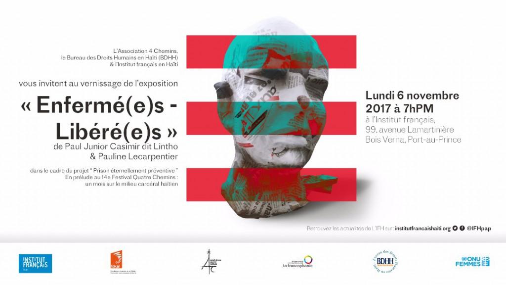 vernissage de l'exposition «Enfermé(e)s- Libéré(e)s»